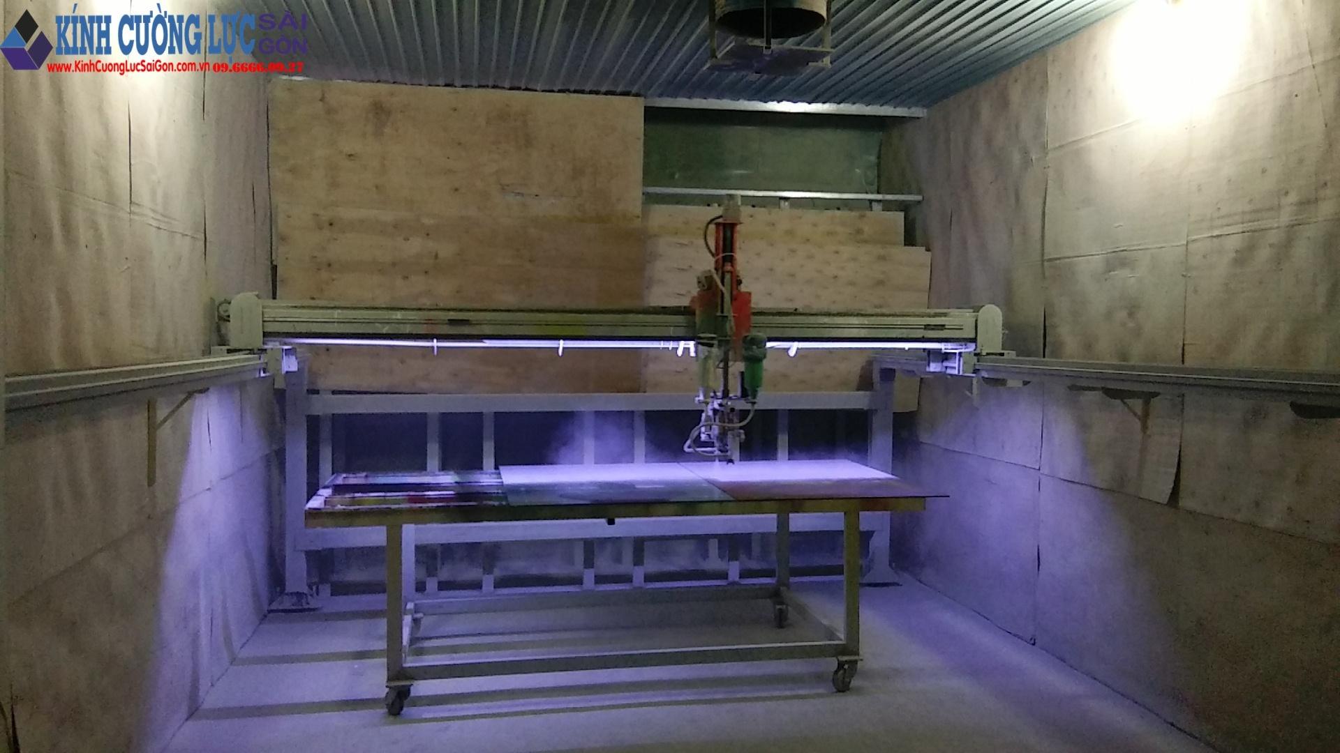 Quá trình máy phun sơn hoạt động