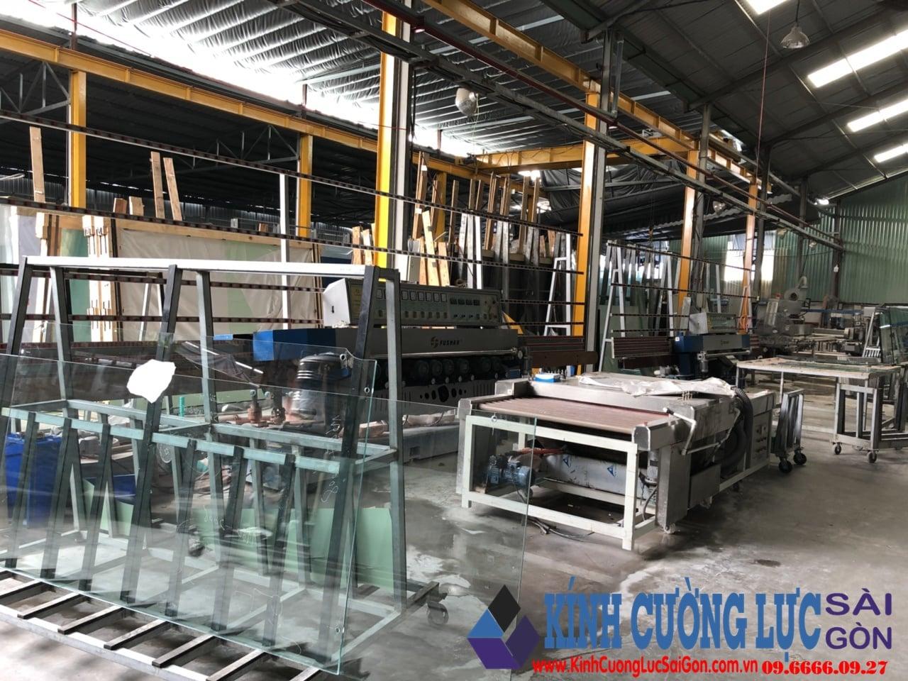 Cơ sở sản xuất kính cường lực