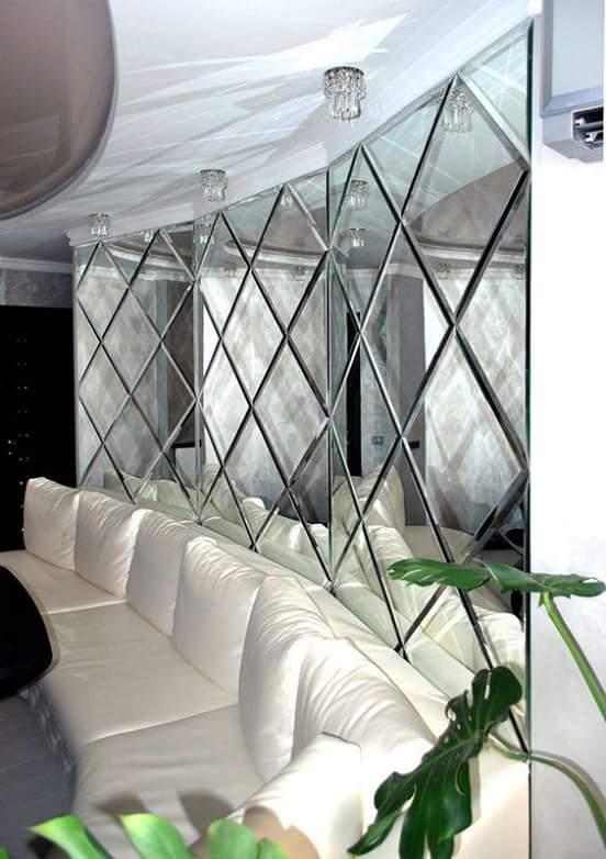 Kính thủy trang trí phòng khách